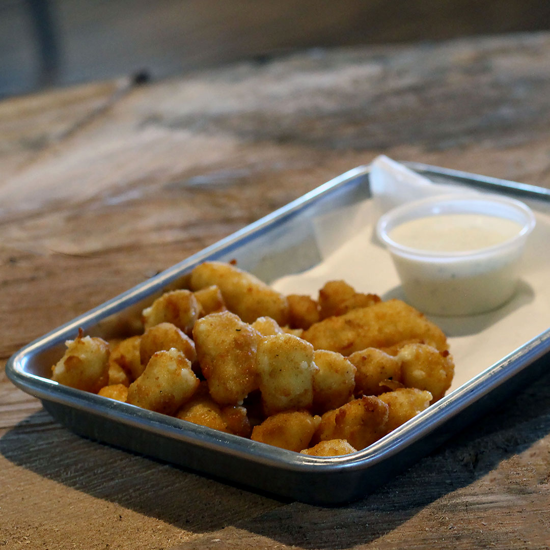 Deep Fried Cheese Curds at The Stillery